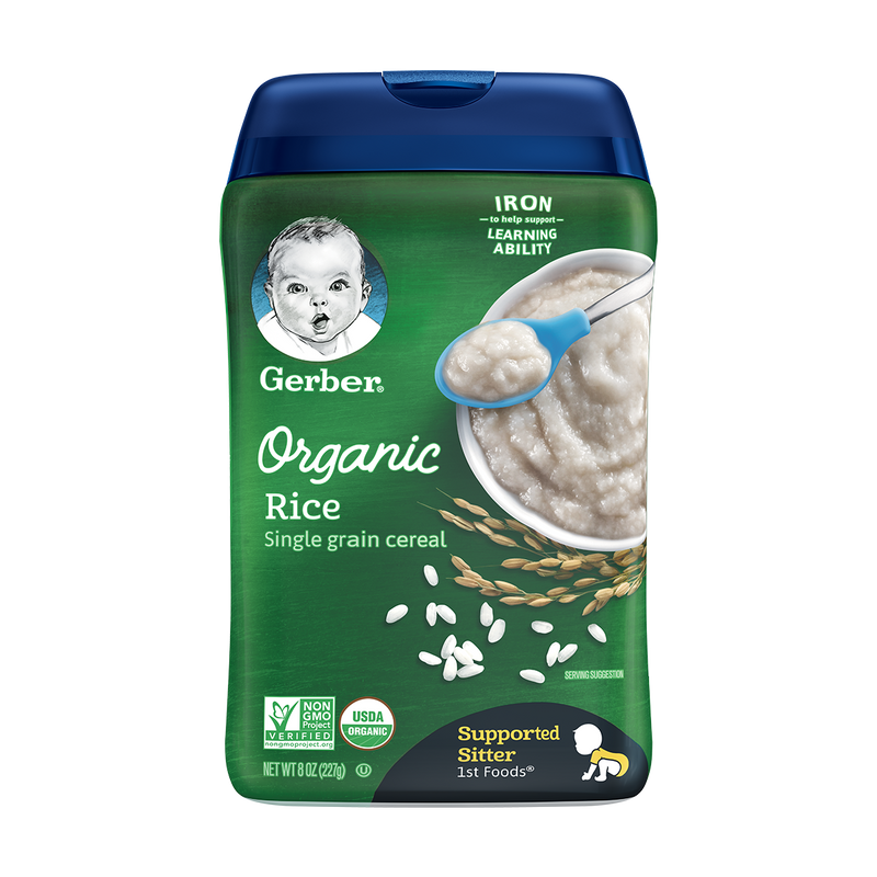 Gerber® Organic Rice Single Grain Cereal 227g