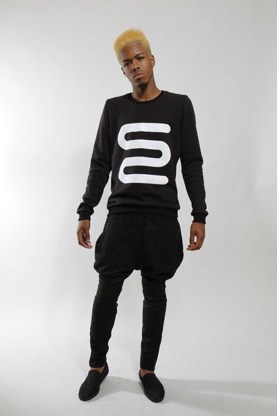 SQUIGGLE CREW - Sweatshirt - STREETWEAR - NYC - MOVES
