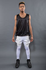 HYBRID RAINPANT LEGGING, BLEACH - Leggings - STREETWEAR - NYC - MOVES