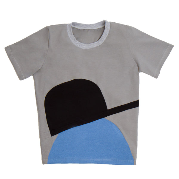SIDEWAYS CAP TEE - Tall Tee - STREETWEAR - NYC - MOVES