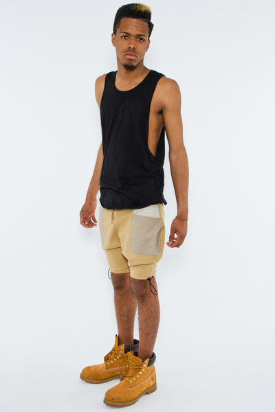 TANK W/ ASYMETRICAL ARMS - Tank - STREETWEAR - NYC - MOVES