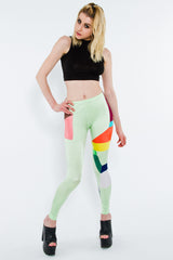 "Humanize Master Leggings as seen in ""Endless Fantasy"" by Anamanaguchi - Leggings - STREETWEAR - NYC - MOVES"