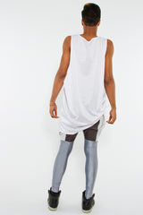 OVERSIZED MESH TANK W/ SIDE TOGGLE SYSTEM, BLEACH - Tank - STREETWEAR - NYC - MOVES