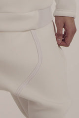 Neoprene Long Underwear Pants w/ Functional Jock Pocket - BLEACH (OR TAR) - Pants - STREETWEAR - NYC - MOVES