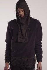Canvas Crew w/ Coated Rubber Paneling, Zip-Off Utility Pocket and Olympic Terror Hood - TAR - Jacket - STREETWEAR - NYC - MOVES