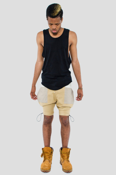 JODHPUR SHORTS W/ KNEE TOGGLE - Shorts - STREETWEAR - NYC - MOVES