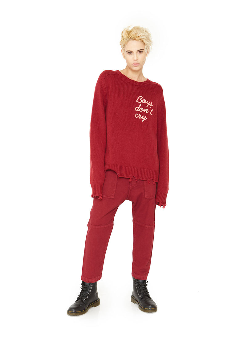Boys Don't Cry Cashmere Sweater