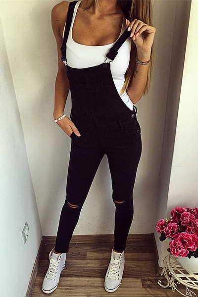 sleeveless-suspenders-long-boyish-distressed-jumpsuit-overalls