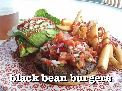 Black Bean Burgers, Case of 12 or 24