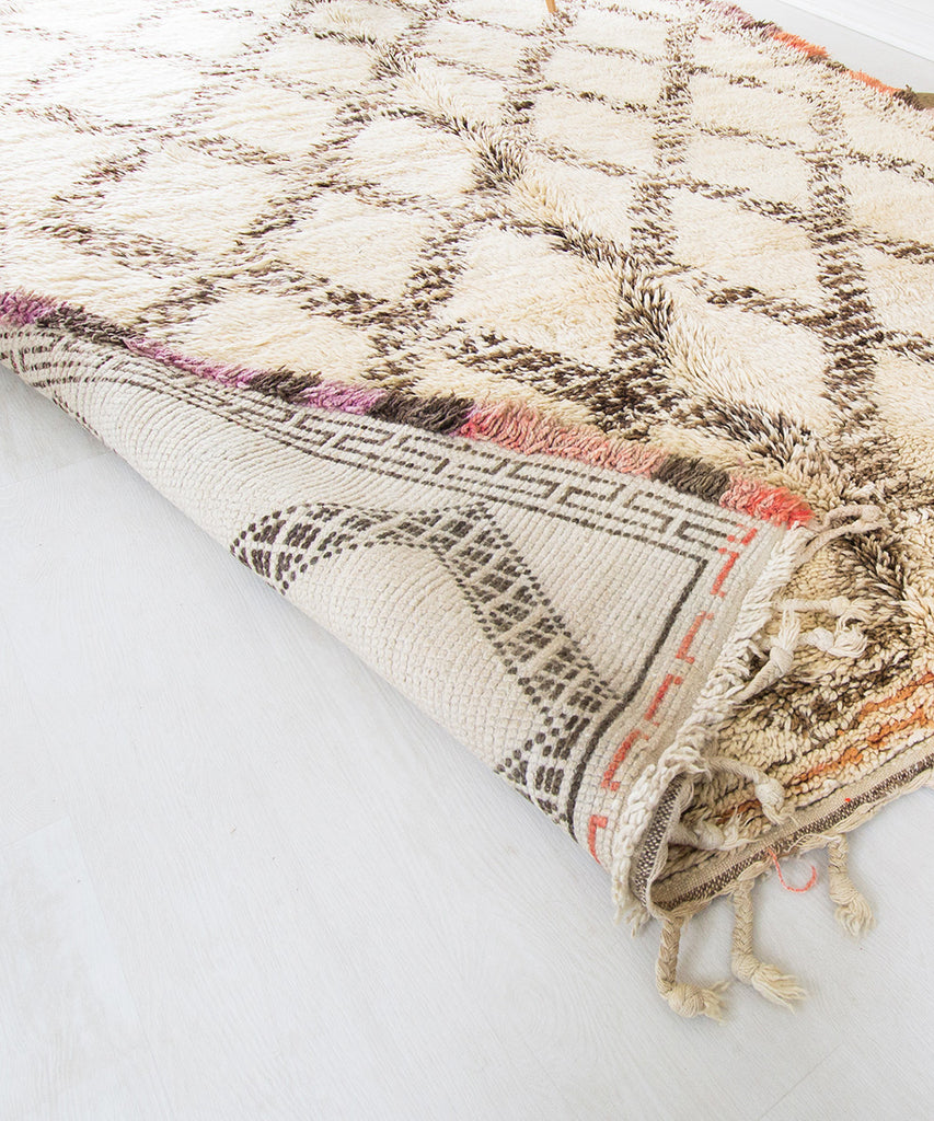 Beni Ourain Moroccan Rug - Sister Golden - The Moroccan Rug that Changed My Life