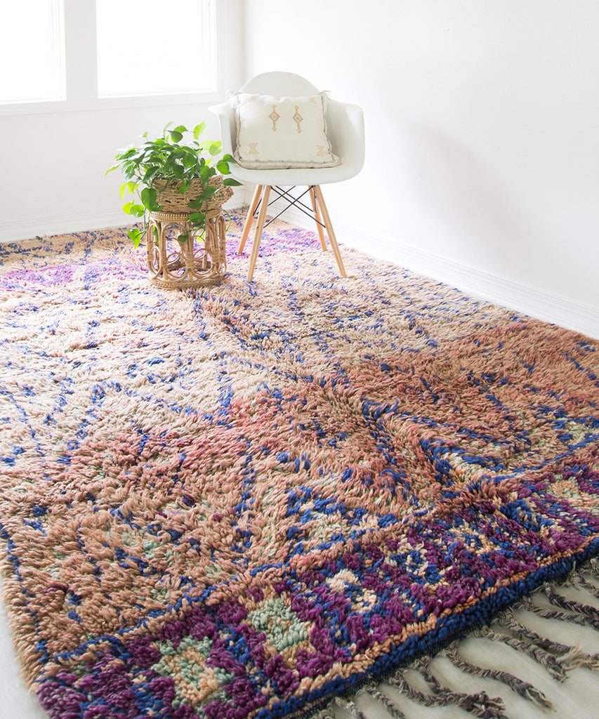 Beni MGuild Moroccan Rug - Sister Golden - The Moroccan Rug that Changed My Life