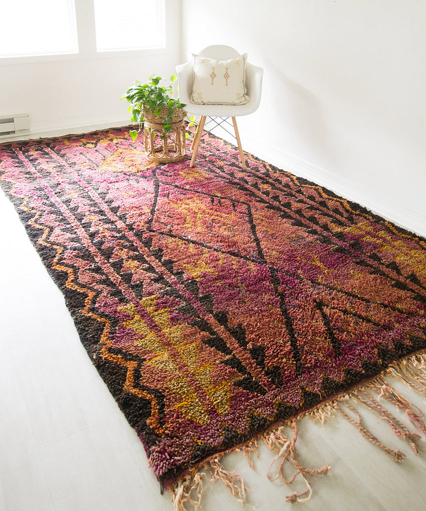Vintage Moroccan Talsint Rug - Sister Golden - The Moroccan Rug that Changed My Life