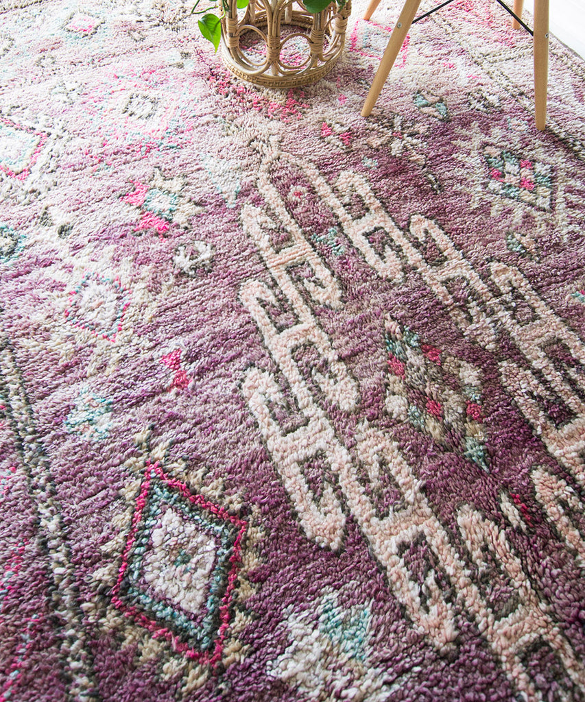 Vintage Moroccan Boujaad Rug - Sister Golden - The Moroccan Rug that Changed My Life