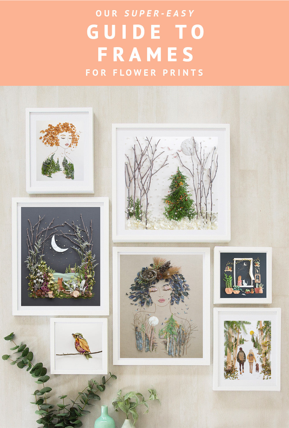 Sister Golden | Quick Guide to Framing Flower Prints