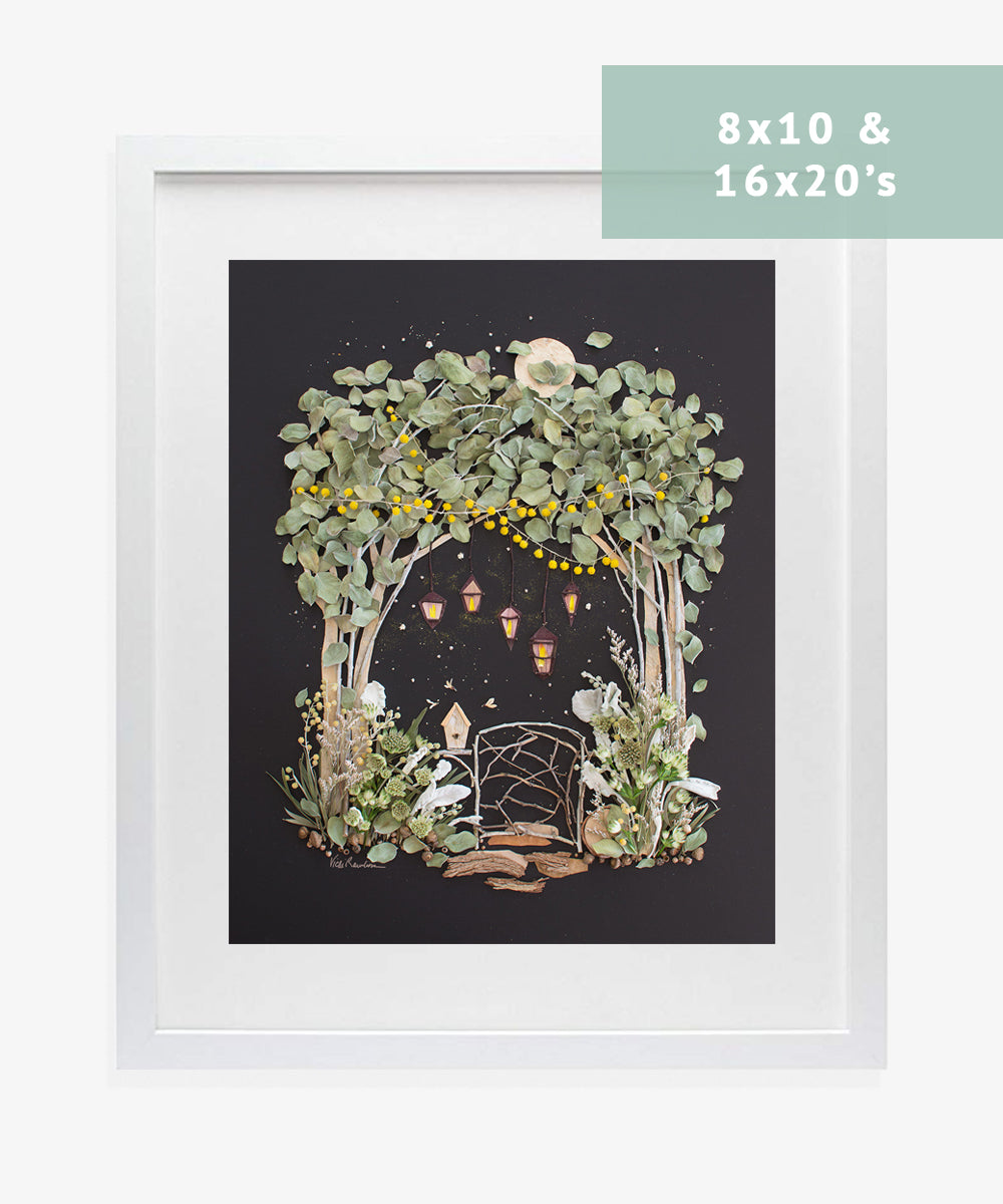 Guide to Framing Flower Prints - Sister Golden