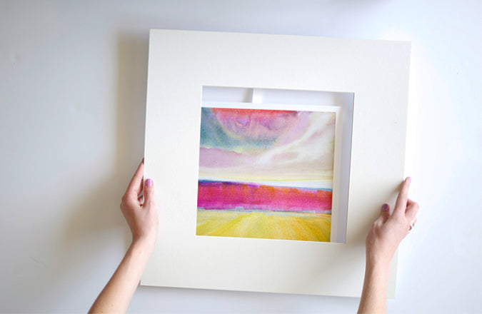 Sister Golden Blog | THE 101: HOW TO FRAME A PRINT