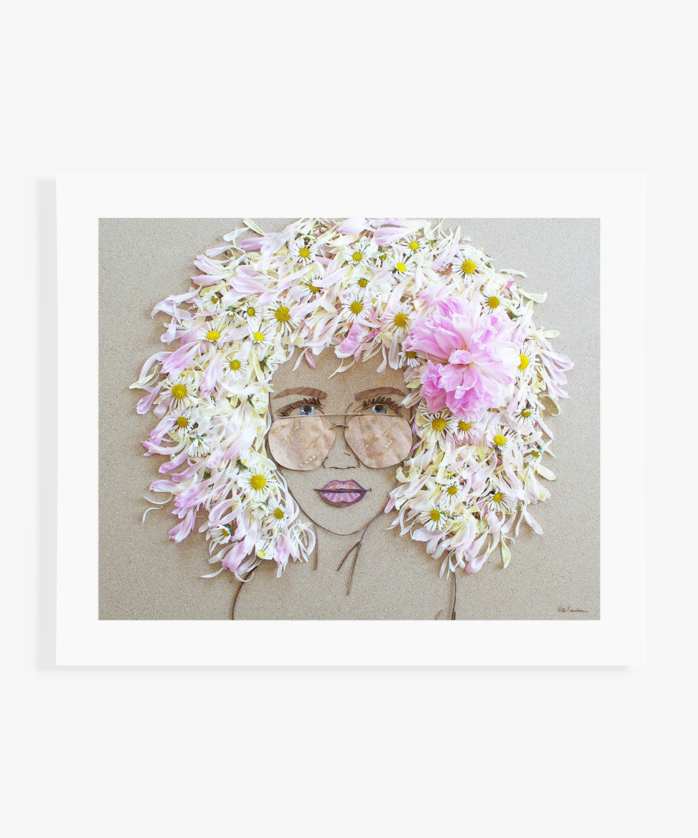 """Beach Babe"" Flower Print - Sister Golden"