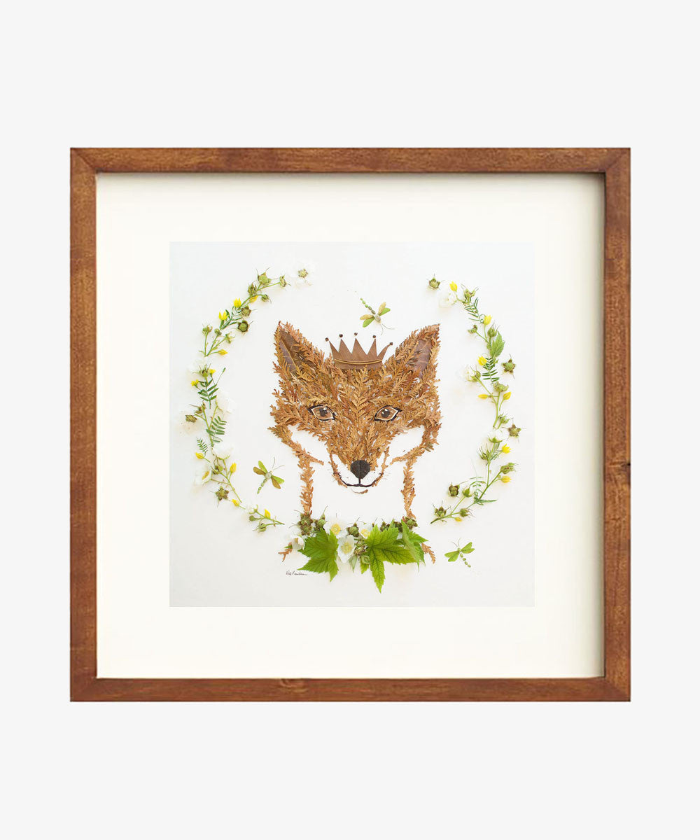"""Prince of the Forest"" Flower Print - Sister Golden"