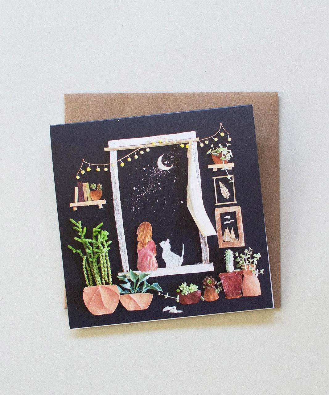 """Stardust"" Greeting Card - Sister Golden"