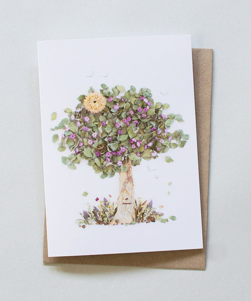 """The Giving Tree"" Greeting Card - Sister Golden"