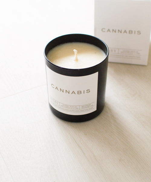 Bisby Cannabis Candle - Sister Golden