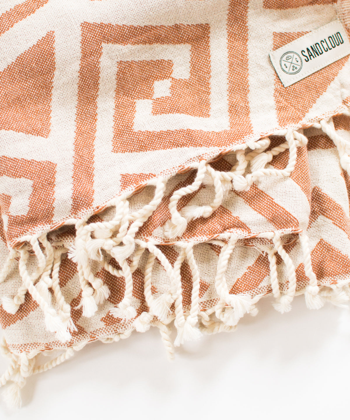 Rust Mandala Towel