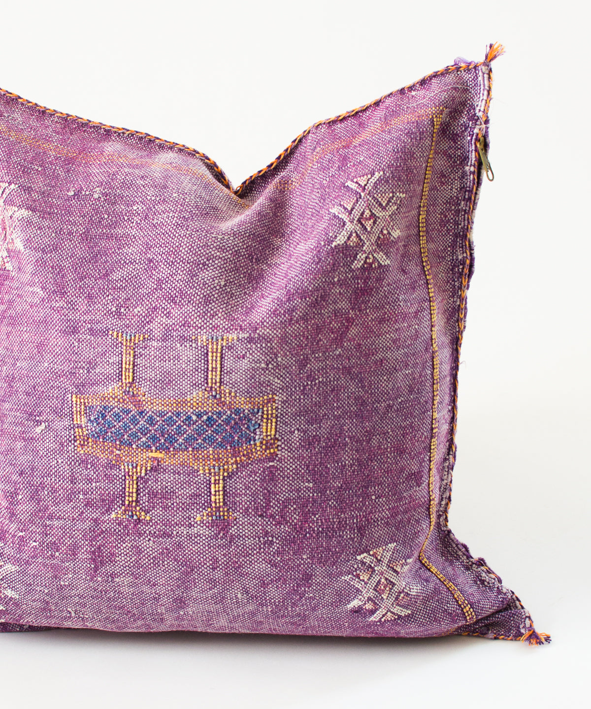 "Moroccan ""Cactus Silk"" Pillow VIII"