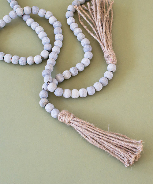 Wood Bead Garland - Sister Golden