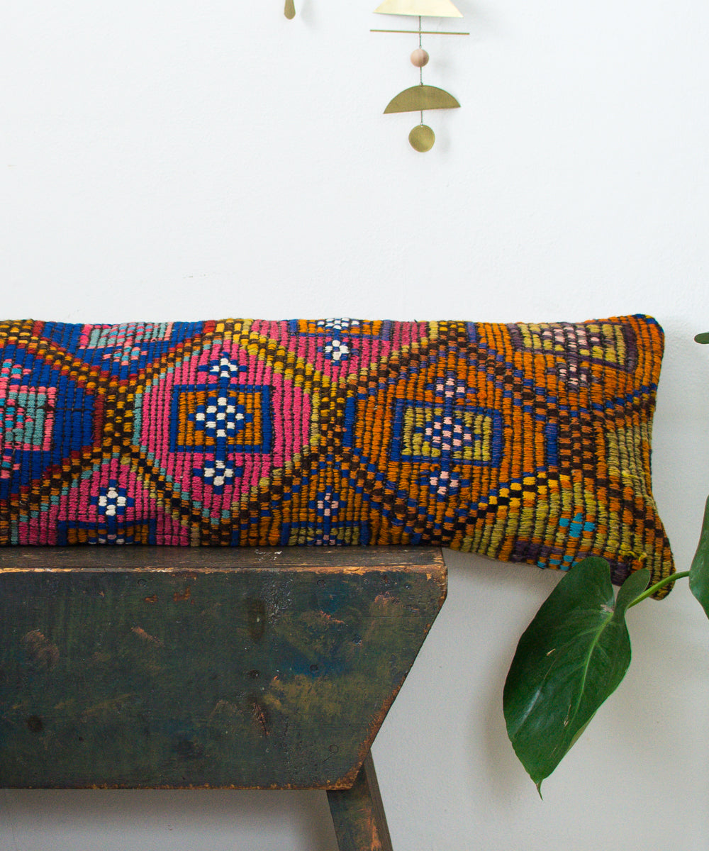 XX-Long Nicola Kilim Pillow