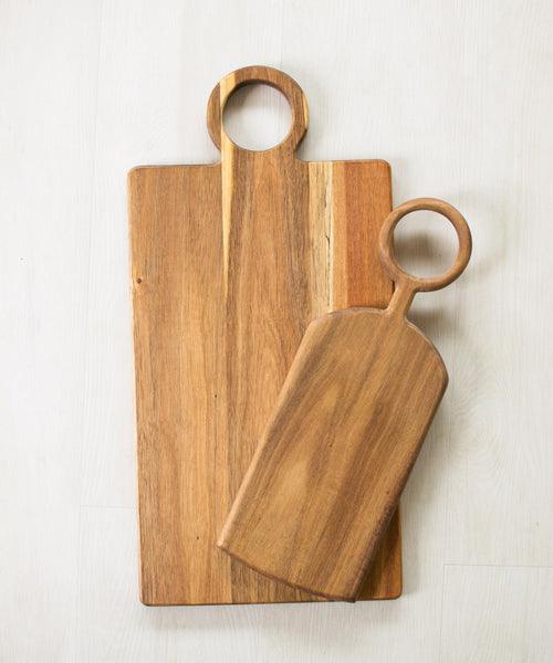 Acacia Wood Cutting Board - Sister Golden