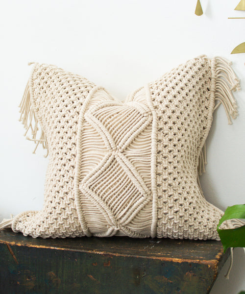 Medina Fringe Pillow