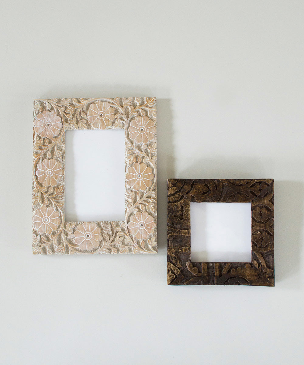 4x4 Carved Avery Frame