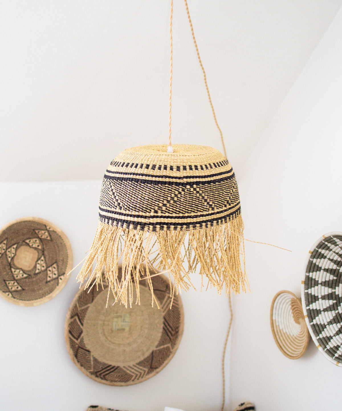 Fringed Lamp Pendant