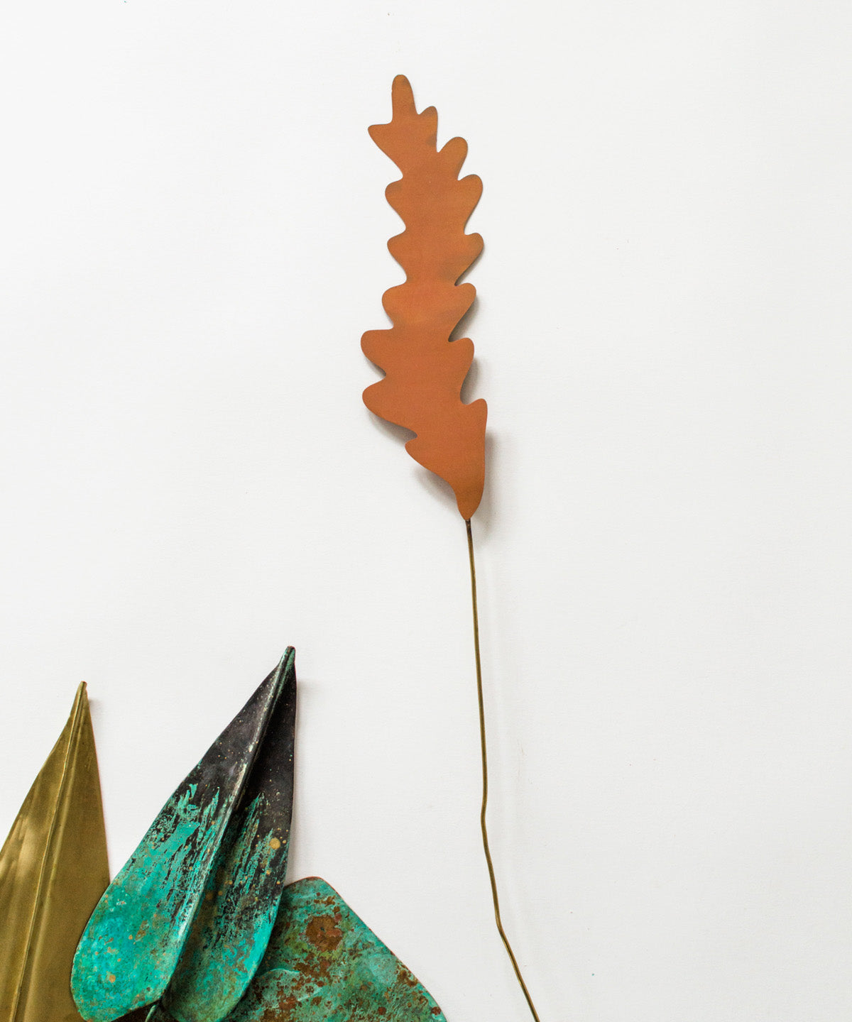 Patina Leaf Stem