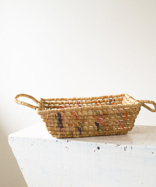 Woven Straw Basket - Sister Golden