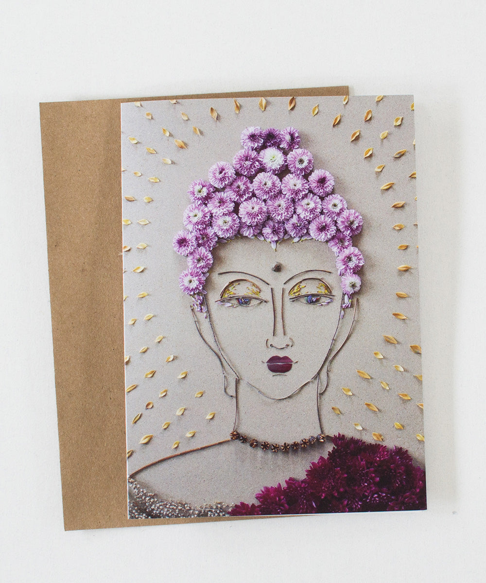 """Buddha"" Greeting Card - Sister Golden"