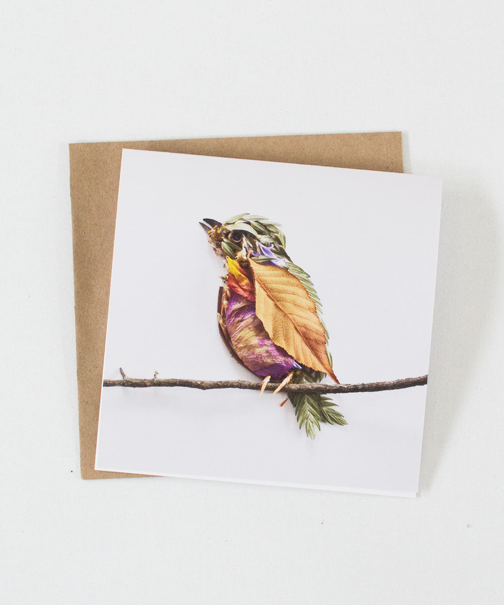 """Perched"" Greeting Card"