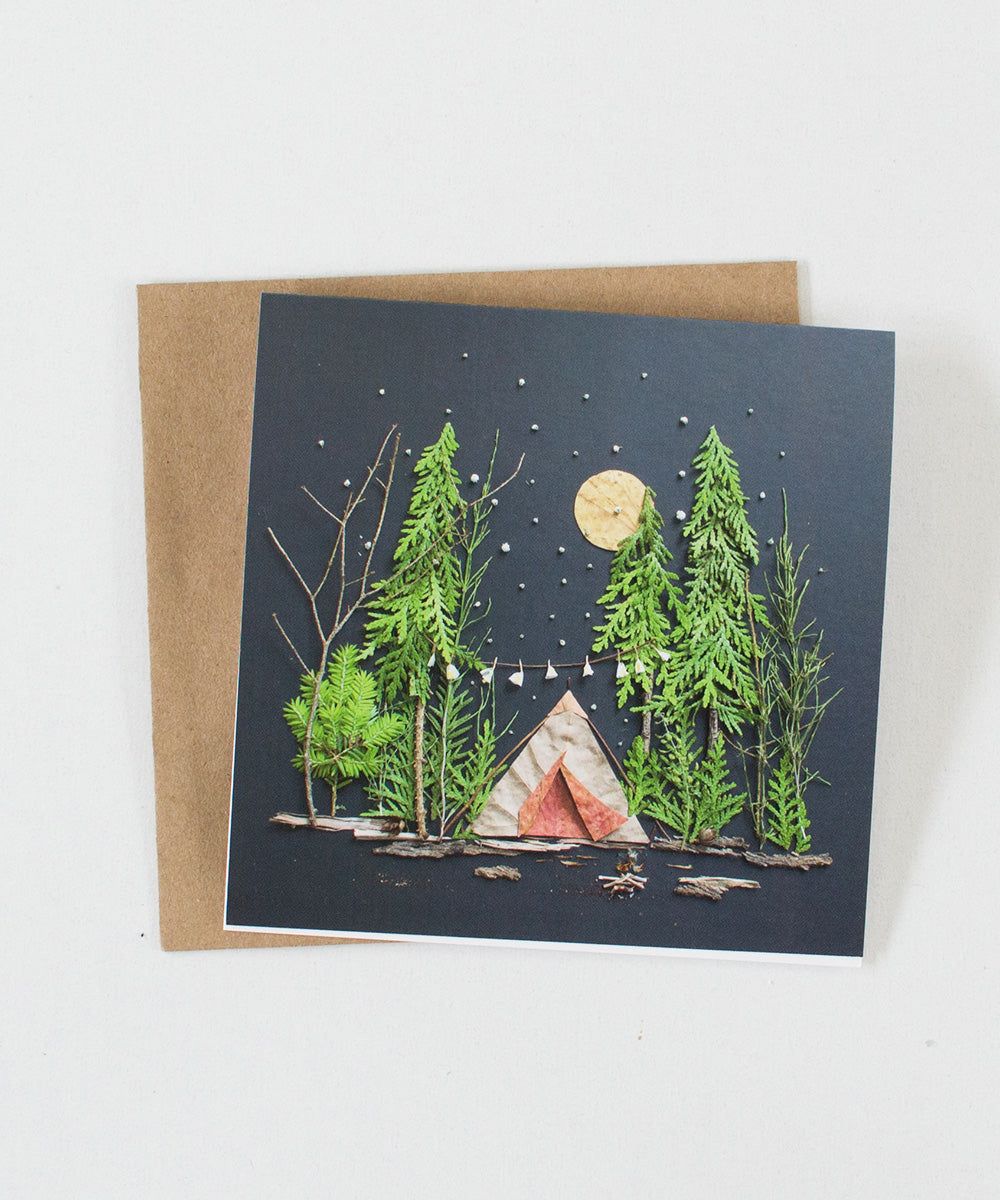 """Under the Stars"" Greeting Card - Sister Golden"