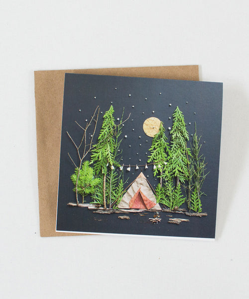 """Under the Stars"" Greeting Card"