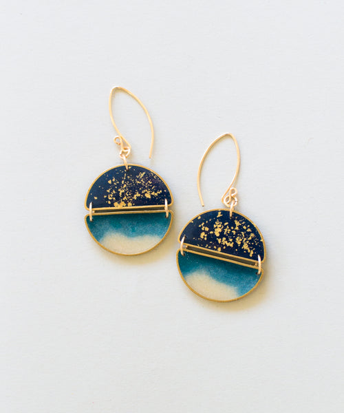 Night Swim Earrings - Sister Golden