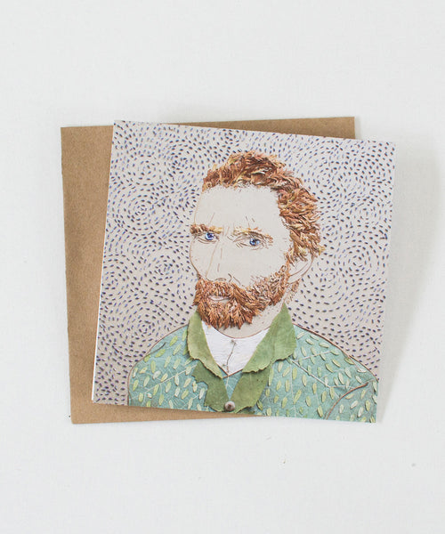 """Van Gogh"" Greeting Card"