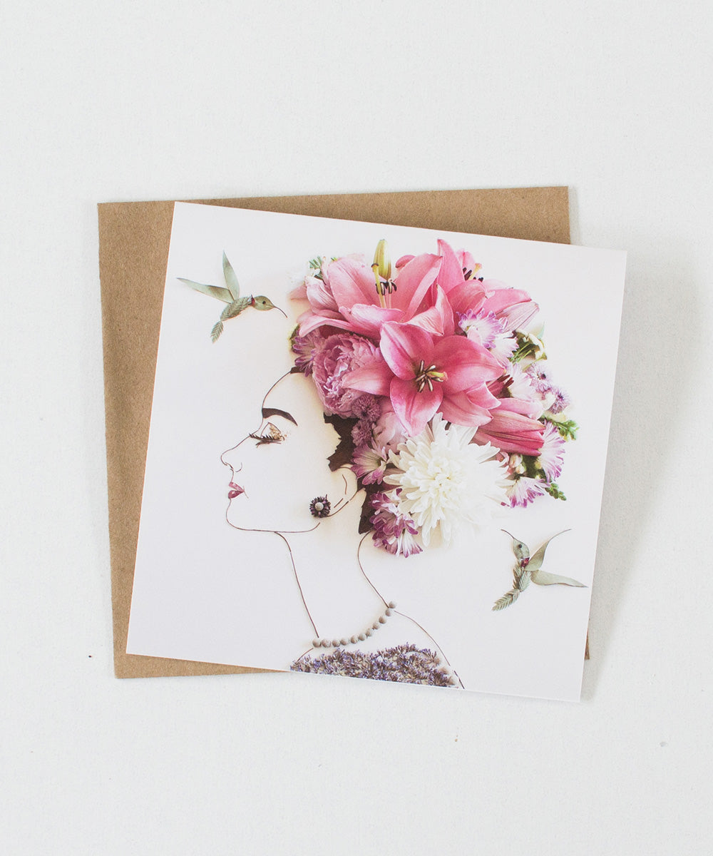 """My Fair Lady"" Greeting Card"
