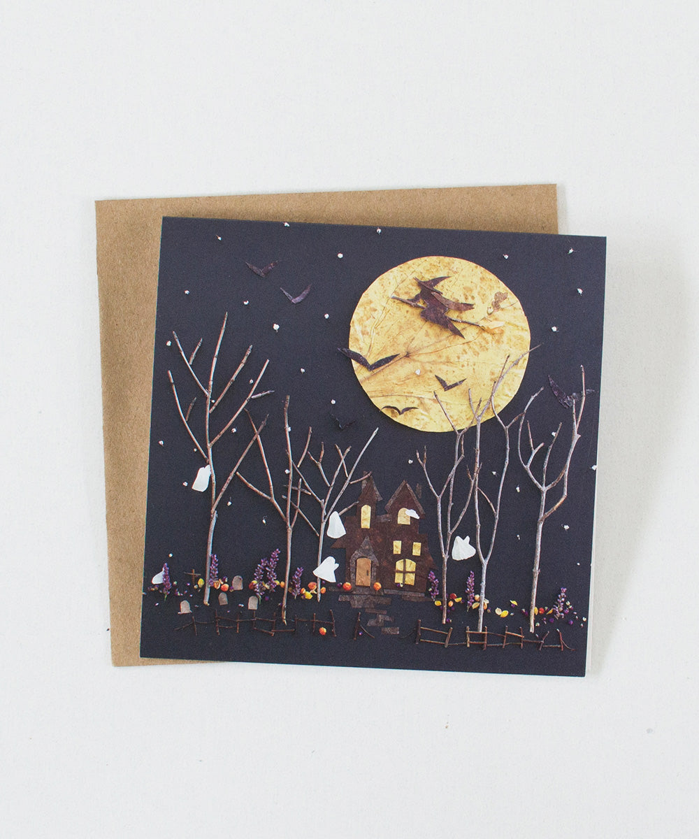 """Hocus Pocus"" Greeting Card"