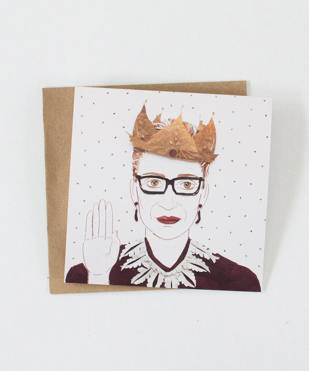 """The Notorious RBG"" Greeting Card - Sister Golden"