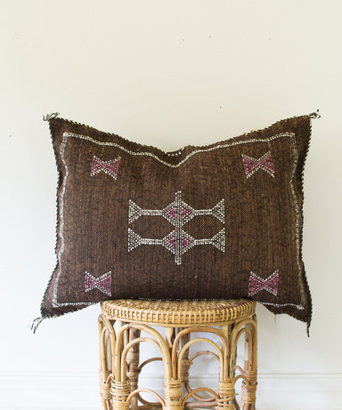 "Moroccan ""Cactus Silk"" Pillow XXII - Sister Golden"