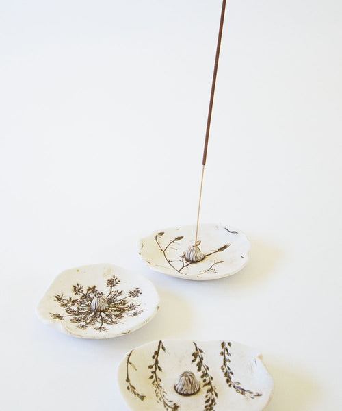 Botanical Incense Burner