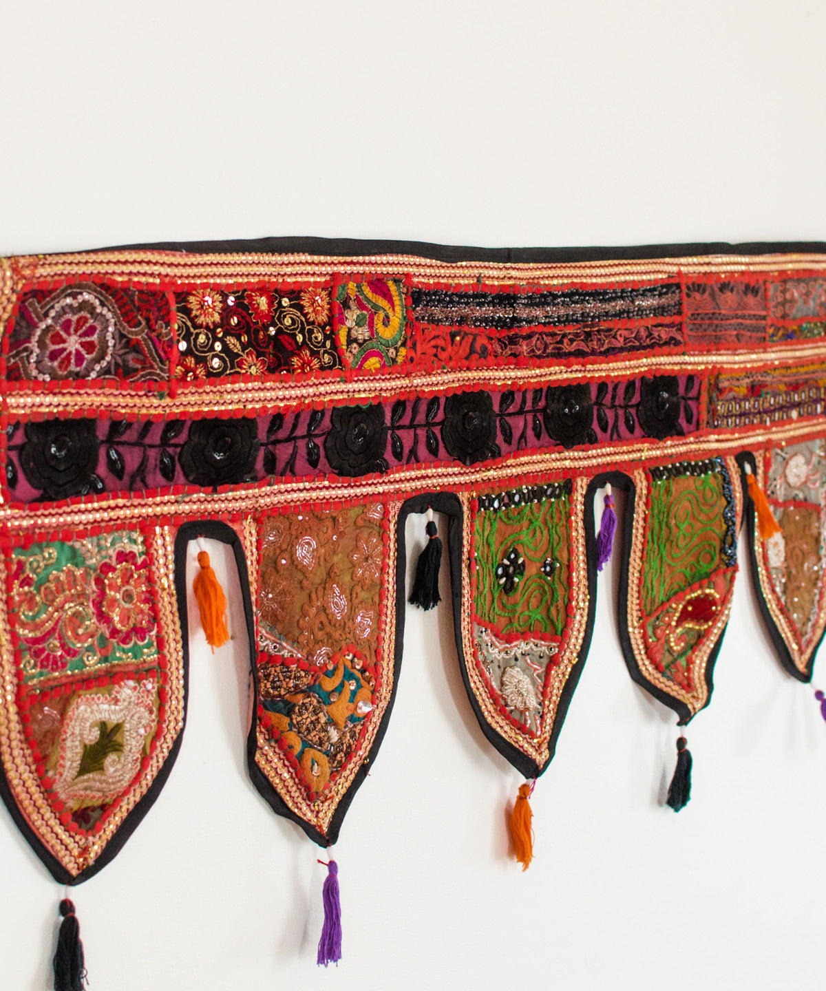 Embroidered Toran Door Hanging XI