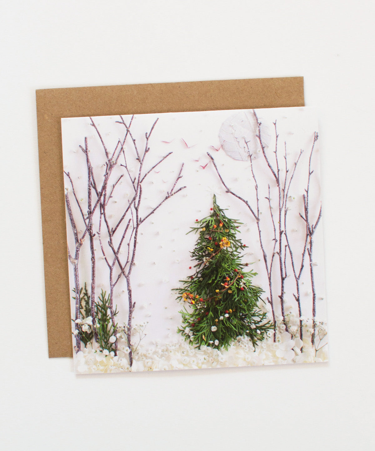 """Moonlit Forest"" Greeting Card"