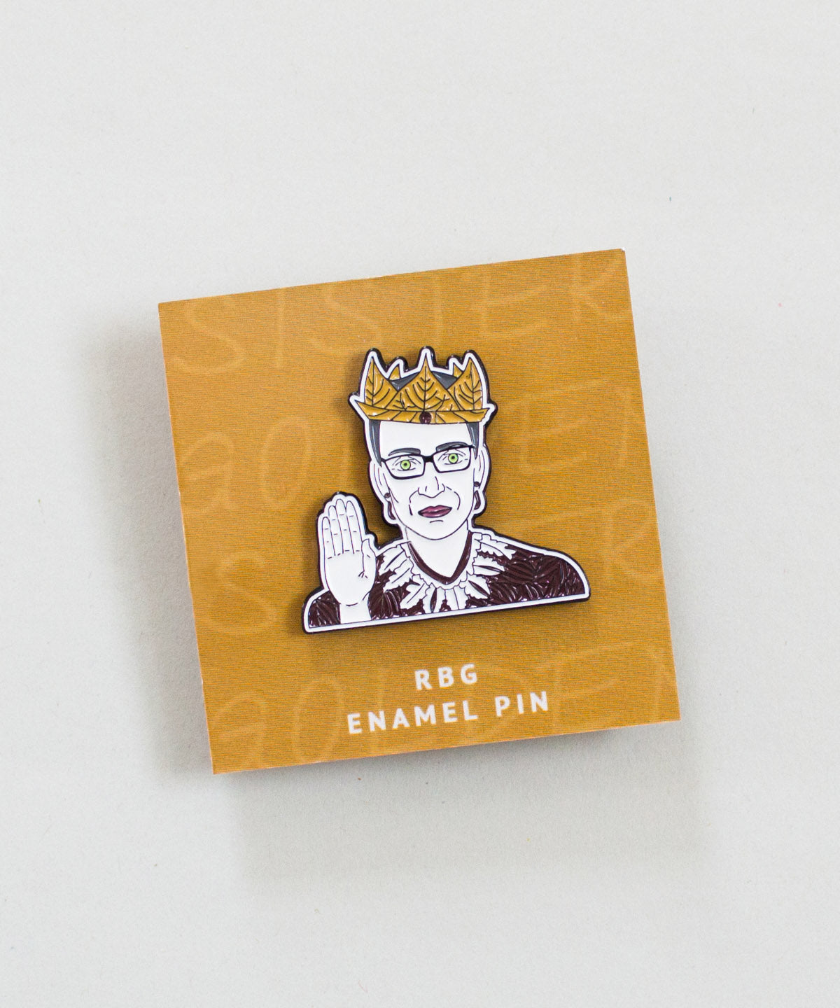 RBG Enamel Pin - Sister Golden