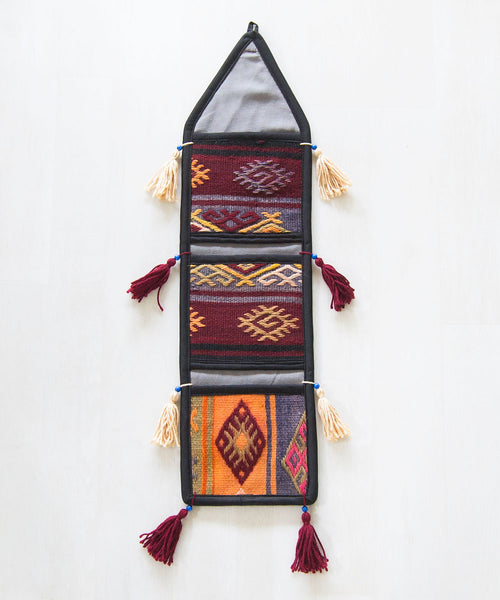 Sail Kilim Caddy